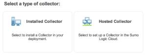 sumo_logic_choose_collector_screenshot